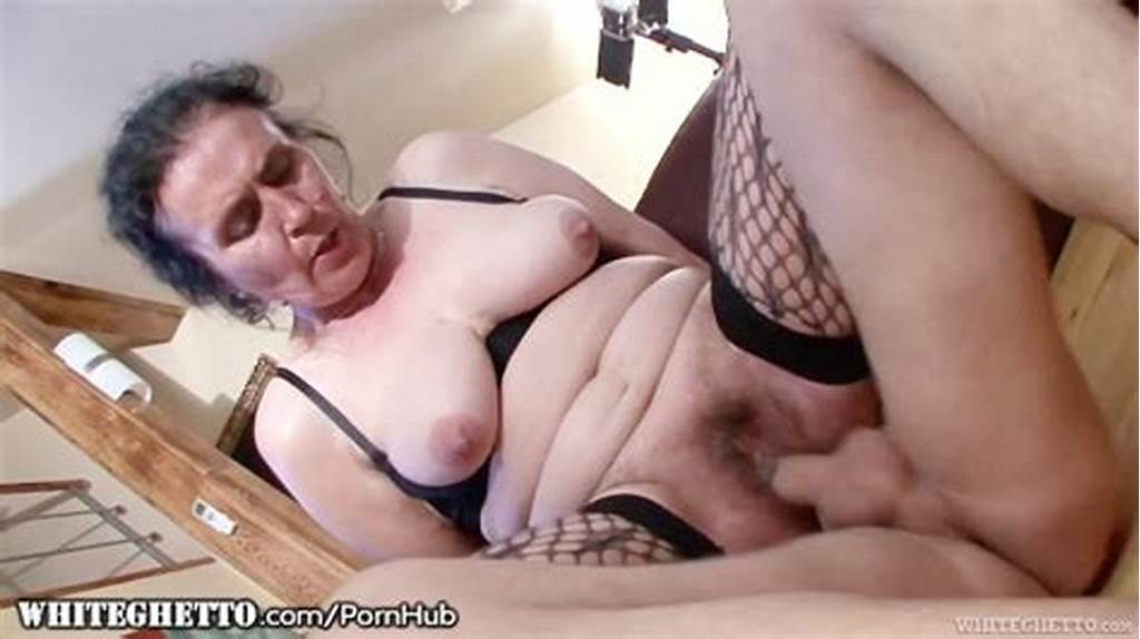 #Whiteghetto #Hairy #Granny #Buttfucking