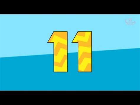 UČIM BROJEVE S HLAPIĆEM - 11 - YouTube