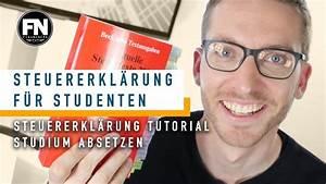 Handwerkerkosten Absetzen 2015 : steuererkl rung f r studenten 2017 2016 2015 tutorial ~ Lizthompson.info Haus und Dekorationen