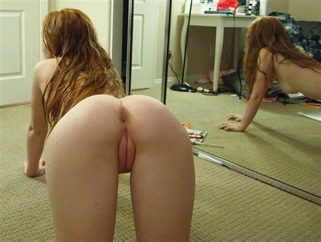 #Naked #Redhead #Pussy #Bent #Over