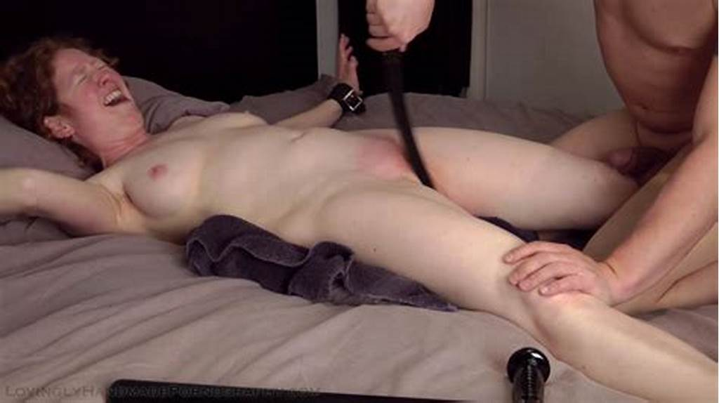 #Hooded #And #Whipped #On #Her #Cunt