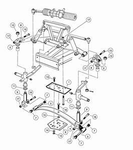 Golf Cart Steering Diagram : front suspension lower golfcartpartsdirect ~ A.2002-acura-tl-radio.info Haus und Dekorationen