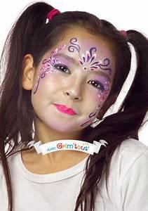 Maquillage Simple Enfant : un maquillage simple pour se transformer en jolie princesse id es de maquillage fille face ~ Melissatoandfro.com Idées de Décoration