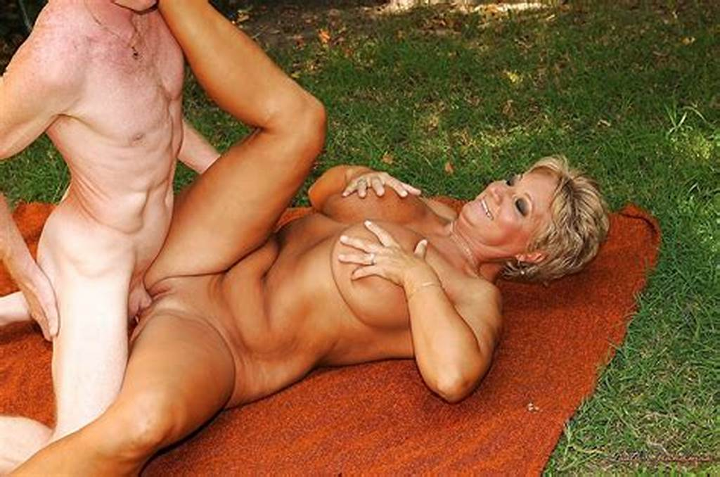 #Short #Haired #Mature #Blonde #With #Big #Tits #Gets #Fucked