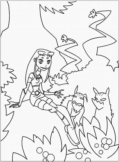 Titans Teen Coloring Pages Para Desenhos Os