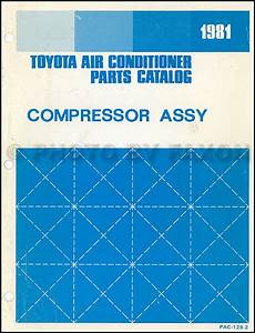 1981 Toyota Corolla Repair Shop Manual Original
