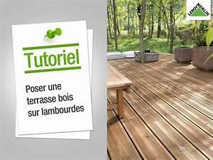 homeliving comment poser une terrasse en bois sur plots With comment monter une terrasse en bois