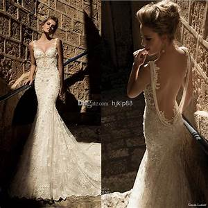 2015 new arrival sexy backless galia lahav wedding dresses With sexy vintage wedding dress