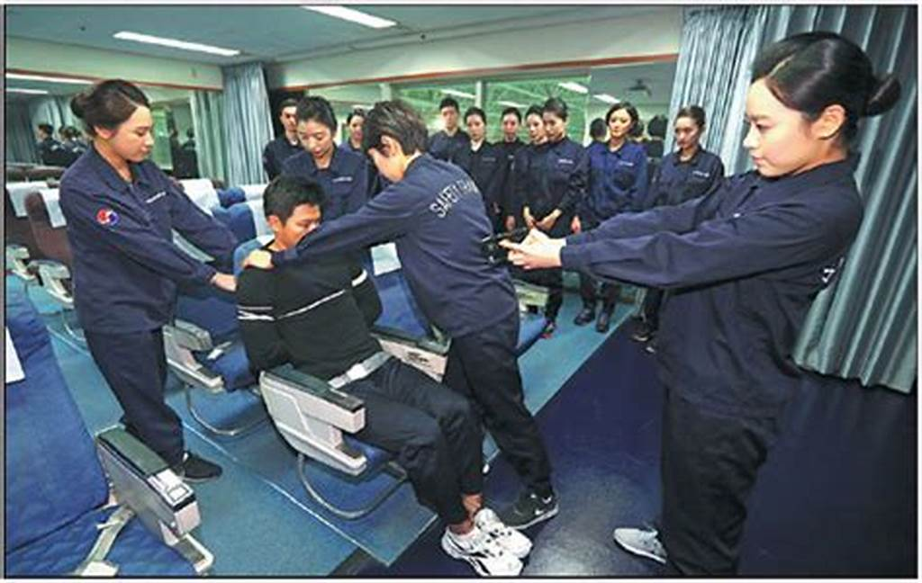 #Crew #Members #Of #Korean #Air #Receive #Training #On #How #To