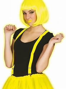 Neon Yellow Braces
