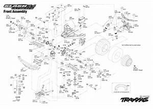 Traxxas Slash 4x4 Ultimate Parts Diagram