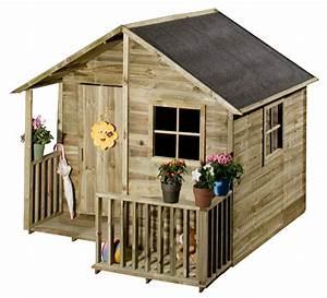Maisonnette Enfant Pas Cher : maisonnette en bois occasion cabanes abri jardin ~ Melissatoandfro.com Idées de Décoration