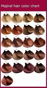 Loreal Majicontrast Colour Chart L 39 Oreal Majirel Color Chart Hair Color Shades Hair
