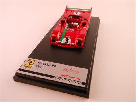 From buzz lockwood's private collection/estate. Cico Gallery: Ferrari 312PB targa Florio 1972 - Munari/Merzario - Tecnomodel