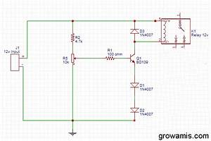12volt Battery Overcharge Protection Circuit Diagram