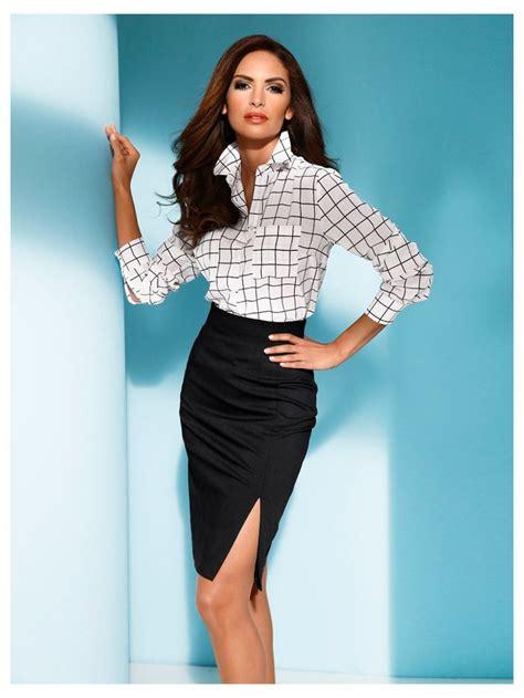 vetement femme pour bureau les 25 meilleures idées concernant jupe à taille haute sur