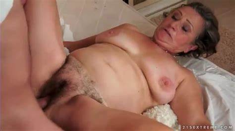 Granny Rammed Wit Teeny Fucker Trimmed Granny Hole Destroyed By His Tiny Meat