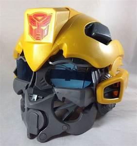 Transformers, Bumblebee, Voice, Changing, Helmet, Mask, 2008