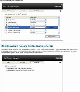 Dell S2240l Instrukcja Uzytkownika Display Manager User