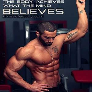 The Body Achieves What The Mind Believes  Bodybuilding  Immortalmuscle  Bodybuilder  Fi U2026