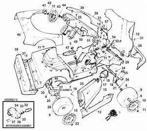 Power Wheels Corvette Super Parts