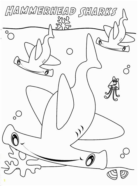 Baby Shark Coloring Pages Coloring Home