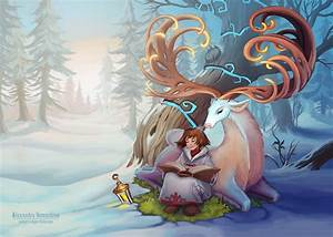 Fantasy, Illustration, On, Behance