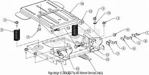 Mtd 13w277ss031  Lt 4200   2016  Parts Diagram For Seat