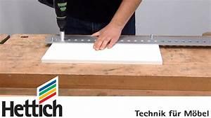 Rohre Für Möbelbau : bohren von system 32 lochreihen f r m belbeschl ge mit der accura bohrlehre von hettich youtube ~ A.2002-acura-tl-radio.info Haus und Dekorationen