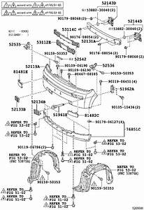 Scion Xb Bumper Cover Bracket  Left  Front   Body  Interior