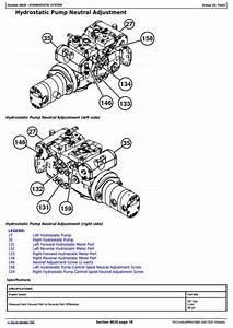 John Deere 329d  333d Skid Steer Loader W Manual Controls
