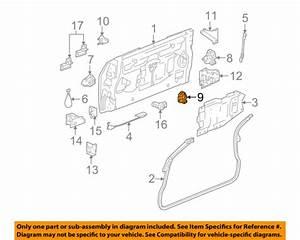 Gmc Sierra Tailgate Latch Diagram