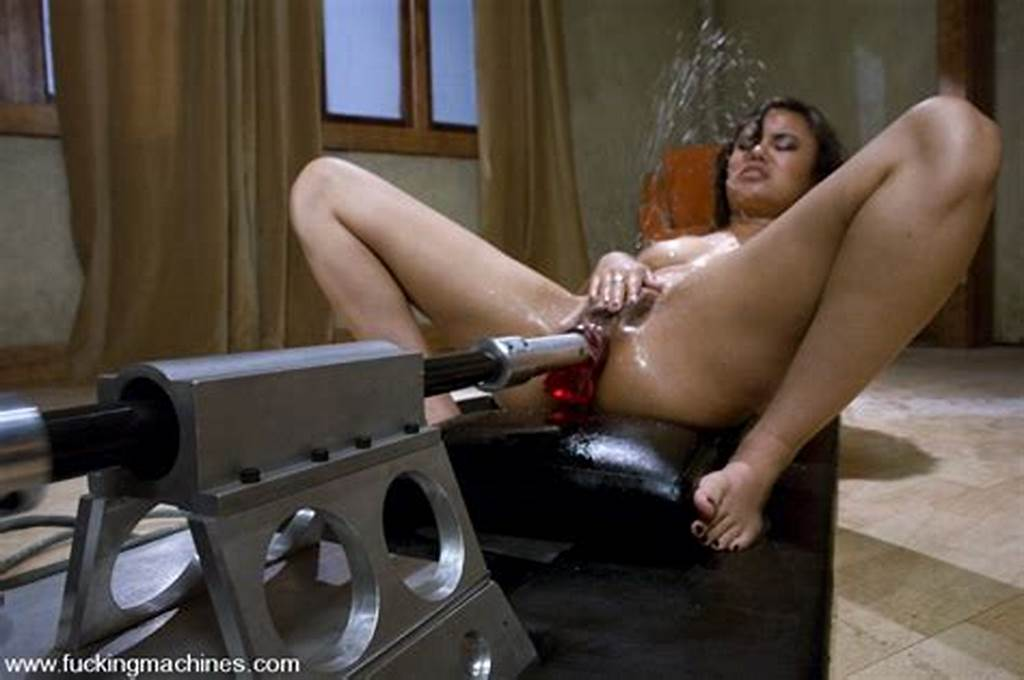 #Asian #Squirts #All #Over #As #Machines #Pound #Her #Ass #And #Pussy