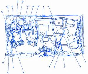 Chevrolet Optra 1 8 Ls 2003 Electrical Circuit Wiring