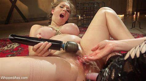 Bigtit Slut Spank Their Alex Chance Bound In Rope Suspension And Holes