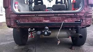 Diy How To Install A Towbar On A Nissan Xtrail T30