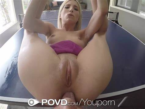 Plumper Pussy Huge Anal Virgin Takes Small Penis