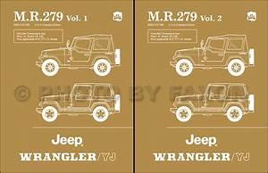 1986 Yj Repair Shop Manual Reprint Mr 279