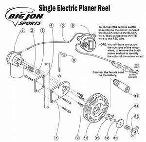 Order Big Jon Single Electric Planer Reel Parts Online