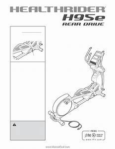 Healthrider H95e Elliptical