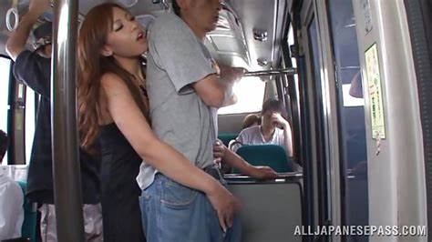 Handjob In Bus Travel yu sakura in \