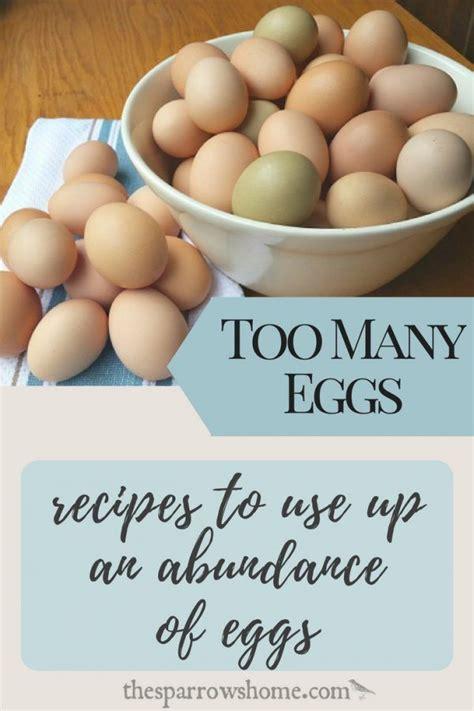 Eggs, flour, egg yolks, powdered sugar, sugar, sugar, vanilla extract and 6 more. Recipes That Use Up A Lot of Eggs (Bonus Pudding Recipe ...