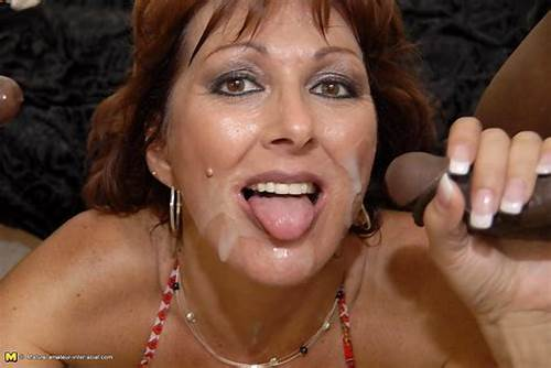 Mature Ladies Facialed In Selection #Busty #Mature #Gets #Blowbanged #And #Facialed #By #Three #Blacks