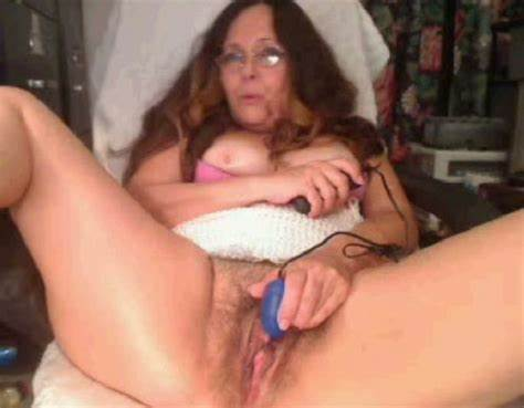 Hairy Cunts Stretched With Big Dildo