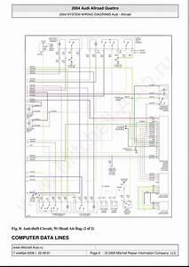 Audi A6 Allroad C5 Quattro Wiring Diagrams Page 9