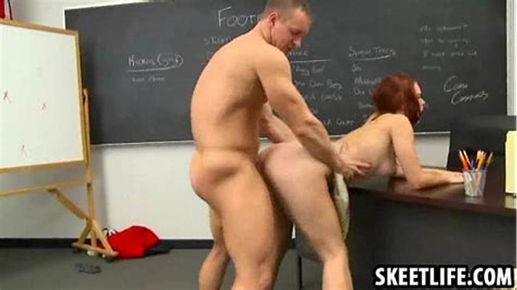 #The #Teacher #Is #Fucking #His #Sexy #Redhead #Student