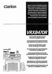 Clarion Vrx8470r