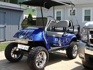 For Sale 2002 Custom Ezgo Gas Golf Cart   Xtreme Toyz
