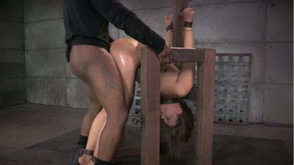 #Restrained #Oiled #Cutie #Maddy #Oreilly #Got #Doggy #Fucked #By #Black #Bdsm #Master #Hard