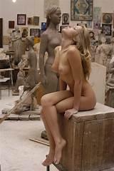 Nude modeling art class
